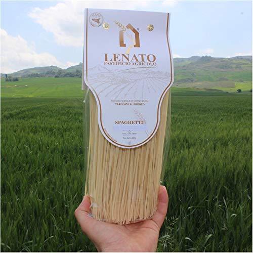 SPAGHETTI Pastificio LENATO Pasta di Semola di Grano Duro Trafilata al Bronzo 500grx12conf.