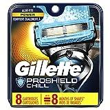 Gillette ProGlide Chill Men's Razor Blades, 8 Blade Refills, Proshield Chill (47400656178)
