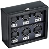 270702 Heritage Collection 2.1 Six Watch Winder with Cover
