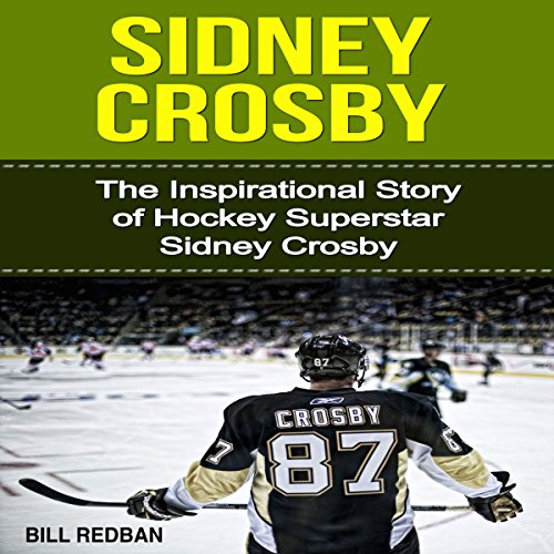 Sidney Crosby audiobook cover art