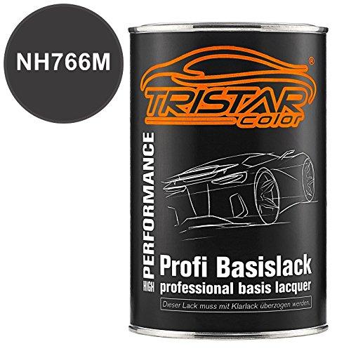 TRISTARcolor Autolack Dose spritzfertig für Acura/Honda NH766M Medium Grill Silver Metallic Basislack 1,0 Liter 1000ml