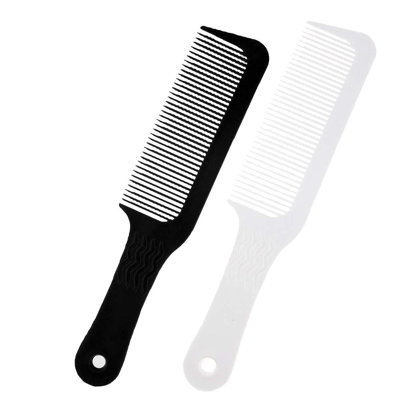 でるグラディス中絶Toygogo プロ3ピース理髪サロンフラットトップクリッパーくし美容師スタイリング切削デタングルブラシツール