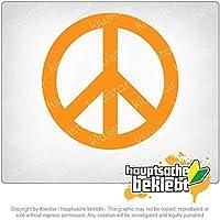 平和 Peace 10cm x 10cm 15色 - ネオン+クロム! ステッカービニールオートバイ