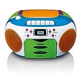 Lenco SCD-971 -Kinderradio - Kassettenradio mit CD...