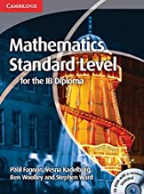 Mathematics for the IB Diploma Standard Level with CD-ROM by Paul Fannon (2012-10-22)