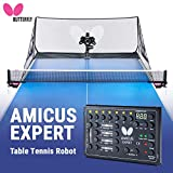 Butterfly Amicus Expert Table Tennis Robot—Fantastic Ball...