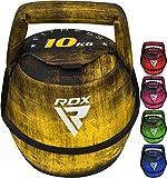 RDX Kettlebell Poids Fitness D'entraînement Haltères Fonctionnel Cloche de Bouilloire Squat Yoga Sac de Sable Exercices Musculation Équipement de Home Gym Haltérophilie Culturisme Balle 2kg à 12kg