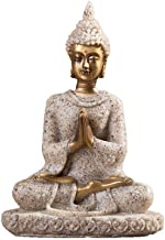 Statues Statue Resin Unique Buddha Figure Thailand Feng Shui Sculpture Buddhism Statue Budda Happiness Ornaments for Home ...