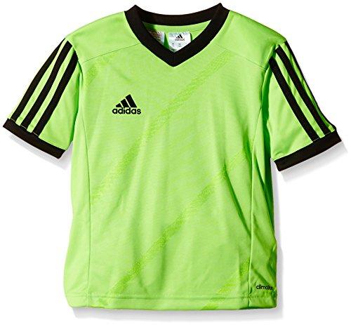 adidas Tabe 14 JSY - Camiseta para hombre, color verde / negro, talla M