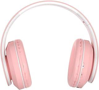 MDHANBK Auriculares inalámbricos portátiles Auriculares Bluetooth, Auriculares estéreo Plegables, Auriculares Ajustables d...