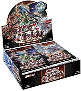 Yugioh Battles of Legend Armageddon Booster Box - 24 Packs of 5 Cards