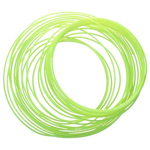 Semoic 3D Printer Pen Filament 1.75mm PLA 10m(Glow in DarK yellow PLA)