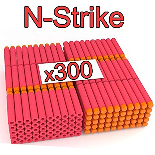 Stomping Ground Toys Proiettili Nerf   Compatibili con Tutte Le Pistole Giocattolo Nerf   7.2cm Schiuma Freccette Ricariche Dardi Proiettili per Nerf