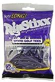 Pride Golf Tee 2-3/4' Way Long RIPSTIXX Golf Tee (65 Count), Purple