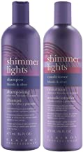 Clairol Shimmer Lights 16 oz. Shampoo + 16 oz. Conditioner (Combo Deal)