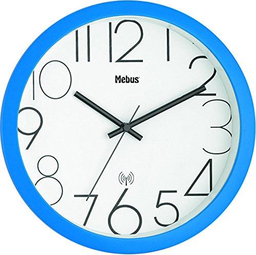 Mebus Wanduhren Analog blau 52767