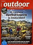 Outdoor 10/2020 'Herbsttourem in Deutschland'