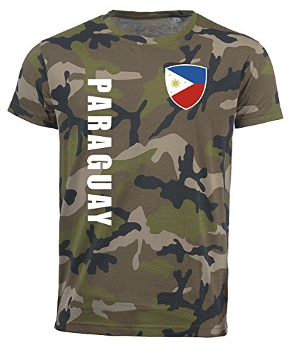 aprom Philippinen T-Shirt Camouflage Trikot Look Army Sp/A (XL)