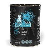 catz finefood Purrrr Schaf Monoprotein Katzenfutter nass N° 113, für ernährungssensible Katzen, 70% Fleischanteil, 6 x 400 g Dose