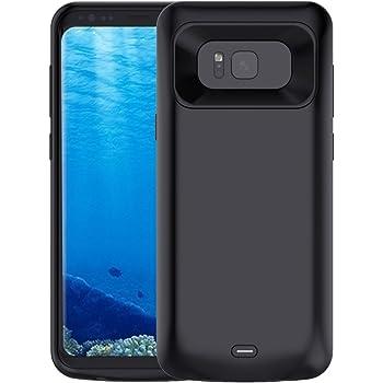 NOVPEAK Funda Bateria para Samsung S8 Plus, 5500mAh S8 Plus Power ...