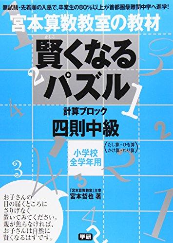 賢くなるパズル 四則 中級 (宮本算数教室の教材)