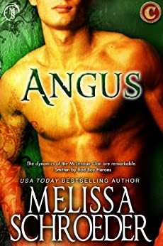 Angus (The Cursed Clan Book 2) by [Melissa Schroeder]