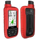 TUSITA Custodia per Garmin GPSMAP 66s 66st - Custodia protettiva in silicone per pelle - A...