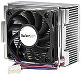 StarTech.com Ventilador Fan Disipador para CPU Procesador Pentium® 4 Socket 478 - Conector TX3 - Ventilador de PC (Enfriador, Procesador, Socket 478, Negro, Aluminio, De plástico, 12V)