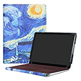 Alapmk Protective Case Cover For 13.5' Microsoft Surface Laptop & Surface Laptop 2 2018 & Surface Laptop 3 2019 (Not fit Surface Laptop 3 15 inch & Surface Book/Surface Pro),Starry Night