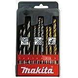 MAKITA D-08660 Broca cilíndrica, Oro, Acero inoxidable