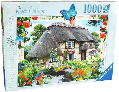 ¡envío gratis! Ravensburger Country Cottage Collection No. 5 5 5 - River Cottage, 1000pc Jigsaw Puzzle by Ravensburger  venta al por mayor barato