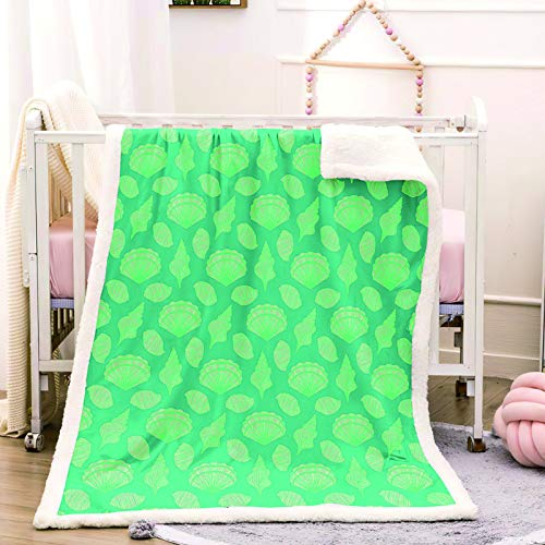 Oukeep Thick Double-Layer Flannel Blanket With European Simple Pattern Single Blanket For Airport, Bus, Lounge Various Styles In 10 Sizes