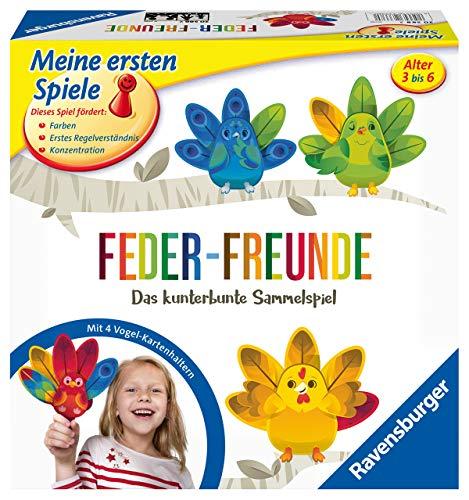 Ravensburger 20587 Feder-Freunde Das kunterbunte Sammelspiel