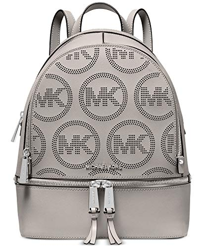 MICHAEL Michael Kors Rhea Zip Medium Backpack Pearl Grey One Size