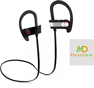 Wireless Sport Bluetooth Headset, Lightweight, Sweatproof, EarHook, for Running, Talking & Listening for Samsung Galaxy J3...