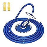 VINGLI Pool Vacuum Above Ground Indoor Outdoor Automatic Swimming Pool Cleaner Sweep Crawler Sweeper