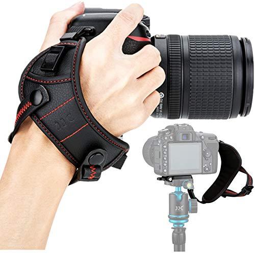 JJC DSLR Camera Wrist Hand Strap Grip with Quick Release