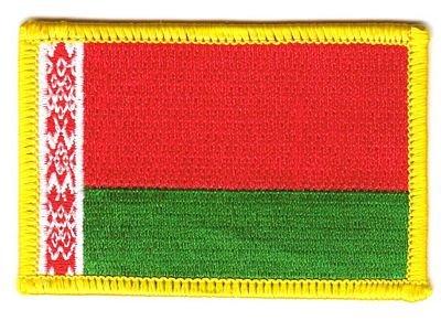 Flaggen Aufnäher Patch Weißrussland Fahne Flagge NEU