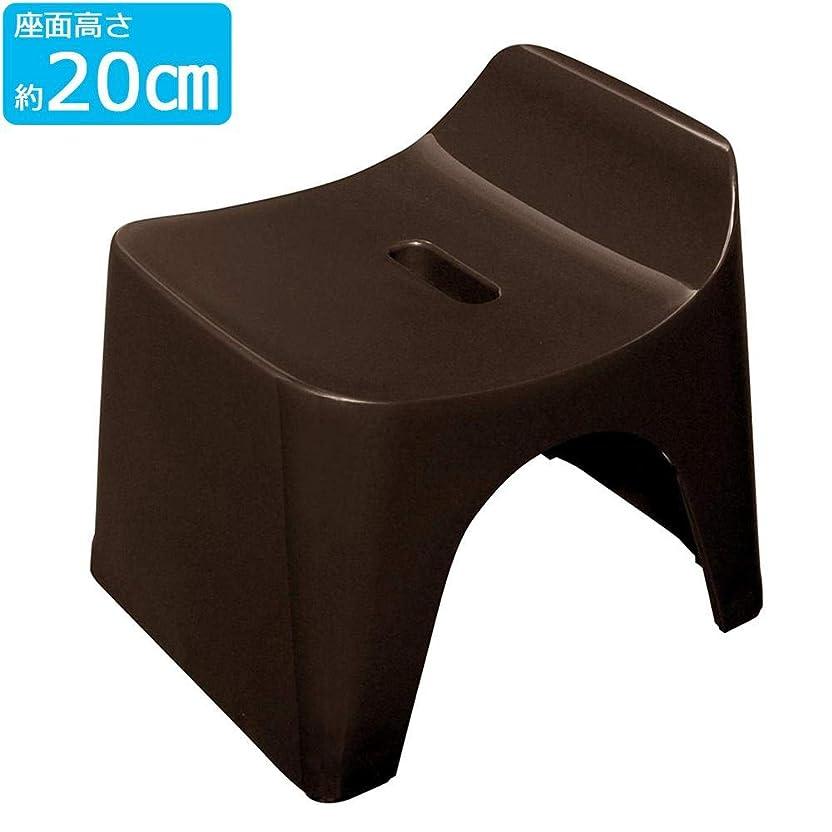 抑圧する封筒大邸宅足下の通気性がよく、安定したしっかりした形のバススツール。 シンカテック HUBATH(ヒューバス) バススツール ブラウン h20-HU-Br 〈簡易梱包