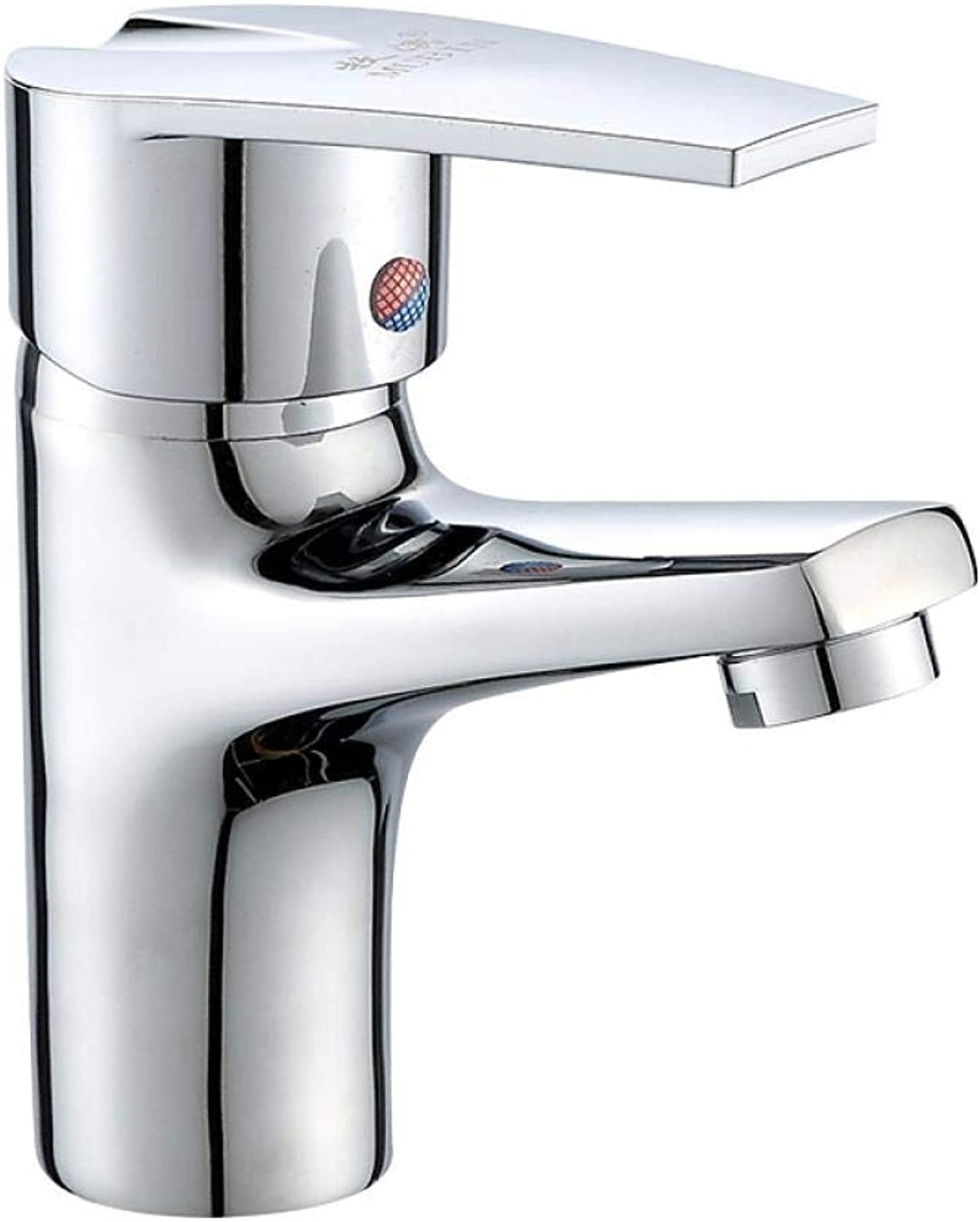 Copper Washbasin Single Hole Hot and Cold Water Faucet Z838