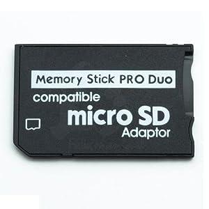 Tarjeta Micro SD TF Memory Stick Pro duo adaptador para Sony PSP SLIM 2000 3000 Envio 48/72H Felixmania®