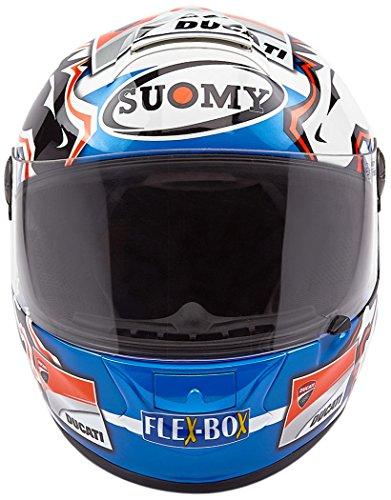 Suomy Helmets Casco Sr-Sport Dovizioso GP réplica Ducati, Hombre, Grafica, XS