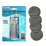 Pool Above Repair Kit for Supreme Air-Flow Mattress | Vinyl Glue | Gray Patches