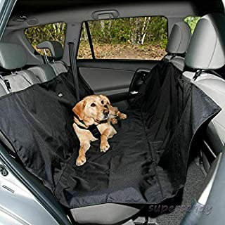 ZOUJIN Waterproof Pet Dog Seat Hammock Cover Car Van Back Rear Protectors Mat for Travel (Color : Army Green)