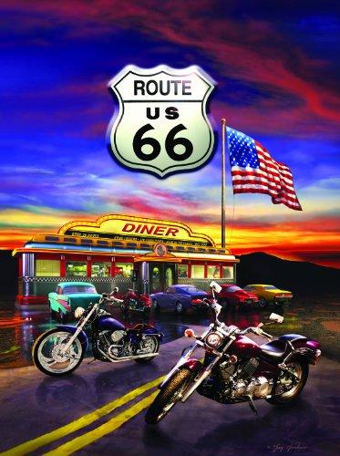 Sunsout 37122 - Route 66 Diner - Puzzle 1000 Teile