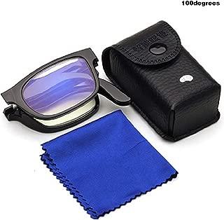 New Reading Glasses Folding Plastic Frame Resin Hot Durable Portable Collapsible Ultra-Light Magnifying Glasses 7 Degrees Optional
