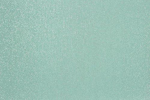 Glitterati Kleine Beads Uni Glitzer Vinyl Tapete, mintgrün, Full Roll
