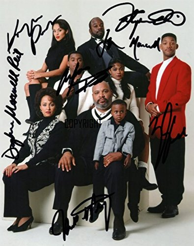 LIMITED EDITION DE FRESH PRINCE VAN BEL AIR CAST SIGNED FOTOGRAPH + CERT gedrukt AUTOGRAPH