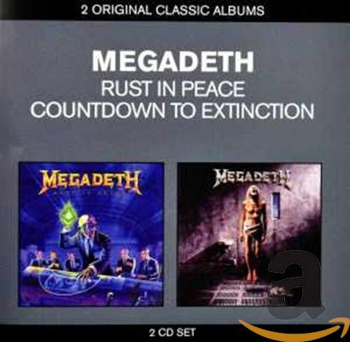 Classic Albums: Countdown To Extinction Rust In Pe (2 CD)