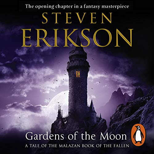 Gardens of the Moon     The Malazan Book of the Fallen 1              Auteur(s):                                                                                                                                 Steven Erikson                               Narrateur(s):                                                                                                                                 Ralph Lister                      Durée: 26 h et 2 min     6 évaluations     Au global 4,8